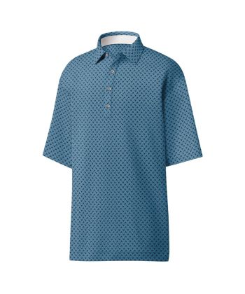 Polo Masc FootJoy Palm Print