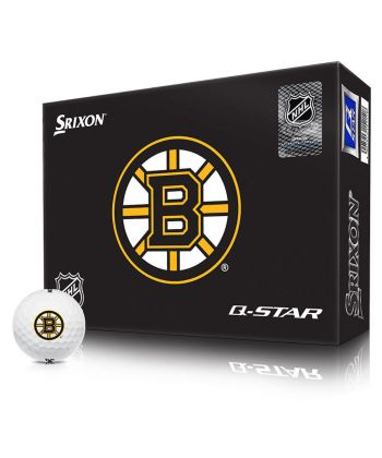 Bolas Srixon Q-Star NHL Boston Bruins c/12
