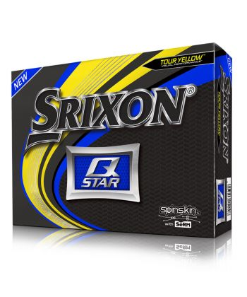 Bolas Srixon Q-Star Yellow c/12