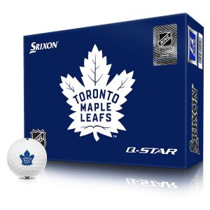 Bolas Srixon Q-Star NHL Toronto Maple Leafs c/12