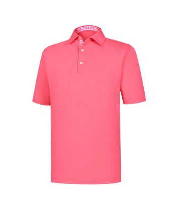 Polo Masc FootJoy Solid Athletic Fit